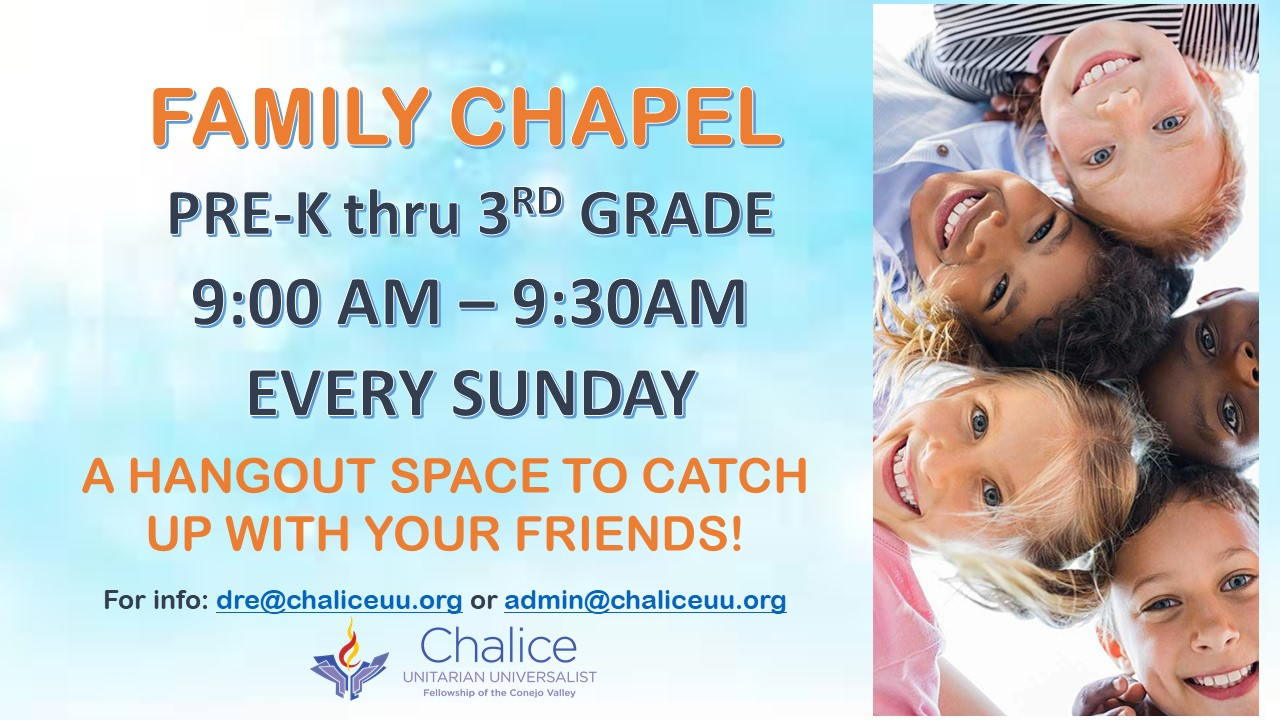 Family Chapel PreK - 3rd Grade