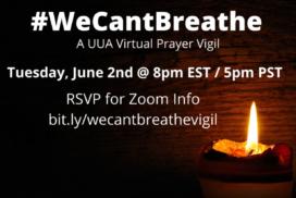 A UUA Virtual Prayer Vigil