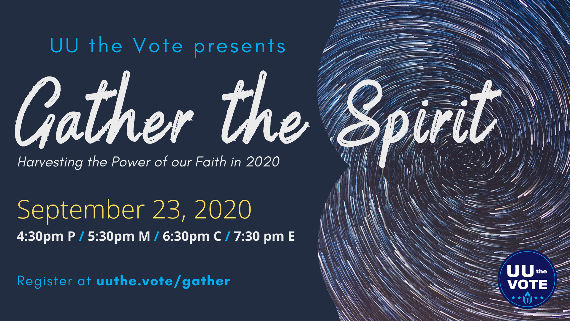 UU the Vote Presents Gather the Spirit
