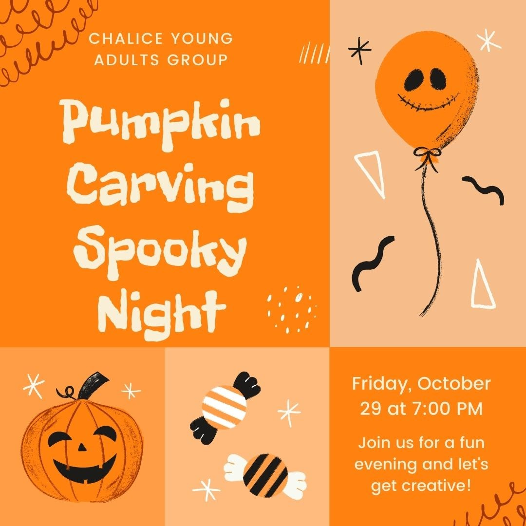 Young Adult (YA) Group - Pumpkin Carving Spooky Night